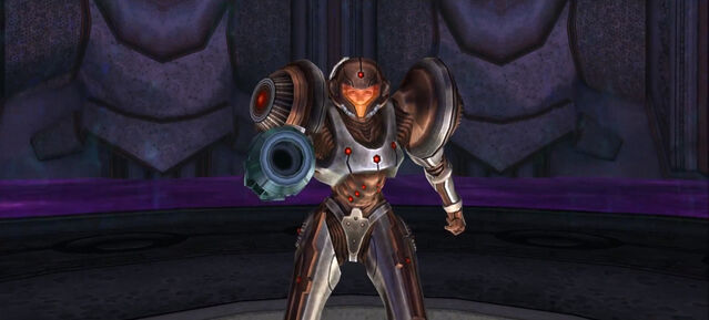 File:Dark Torvus Temple Samus battle ready Dolphin HD.jpg