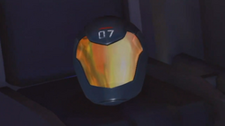 Adam's helmet 2