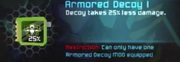 Armored Decoy