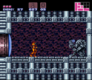 Ice Beam Super Metroid