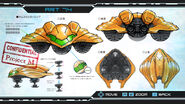 Metroid Other M Gunship Art 74