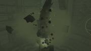 MP2 Alpha Blogg crushes central pillar of Main Hydrochamber.png