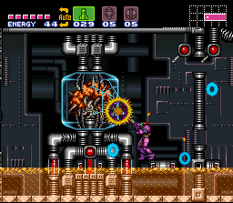 Super Metroid Mother Brain tank