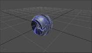 Beta Gravity Suit Morph Ball MP1