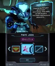 Zero Suit Paint Job