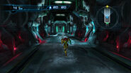 Samus enters Cryosphere corridor HD