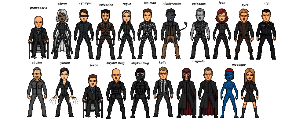 Image - X men 2.jpg | Micro heroes movies and tv shows and vidoe game Wiki | Fandom powered by Wikia