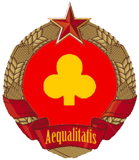 File:The Equalist Republic of Cloverland's coat of arms.png
