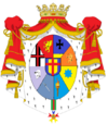 King of Istoria Coat of Arms