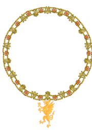 Collar of the Grand Master of the Order of the Golden Dragon
