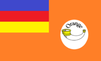 Unironic Orange Colony Flag