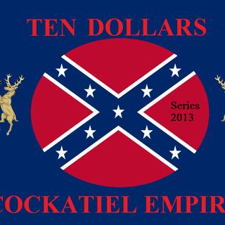 Ten Cockatiel Dollars (Series 2013)