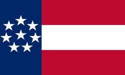 Flag of Fort Cockatiel