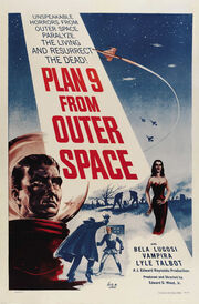 'Plan 9 From Outer Space' Film Poster