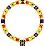 Collar of the order of God the Father