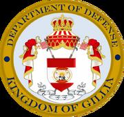 Department of Defense Emblem Gillia