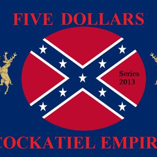 Five Cockatiel Dollars (Series 2013)