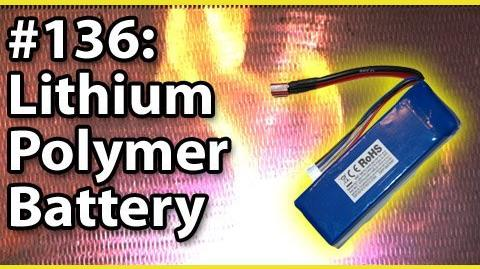 Microwaving A Lithium Polymer Battery!