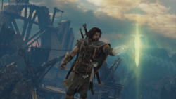 Talion collecting epic rune
