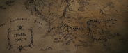 Map of Middle-earth in Peter Jackson's films