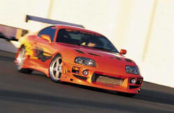 Toyota supra fast and furious-3