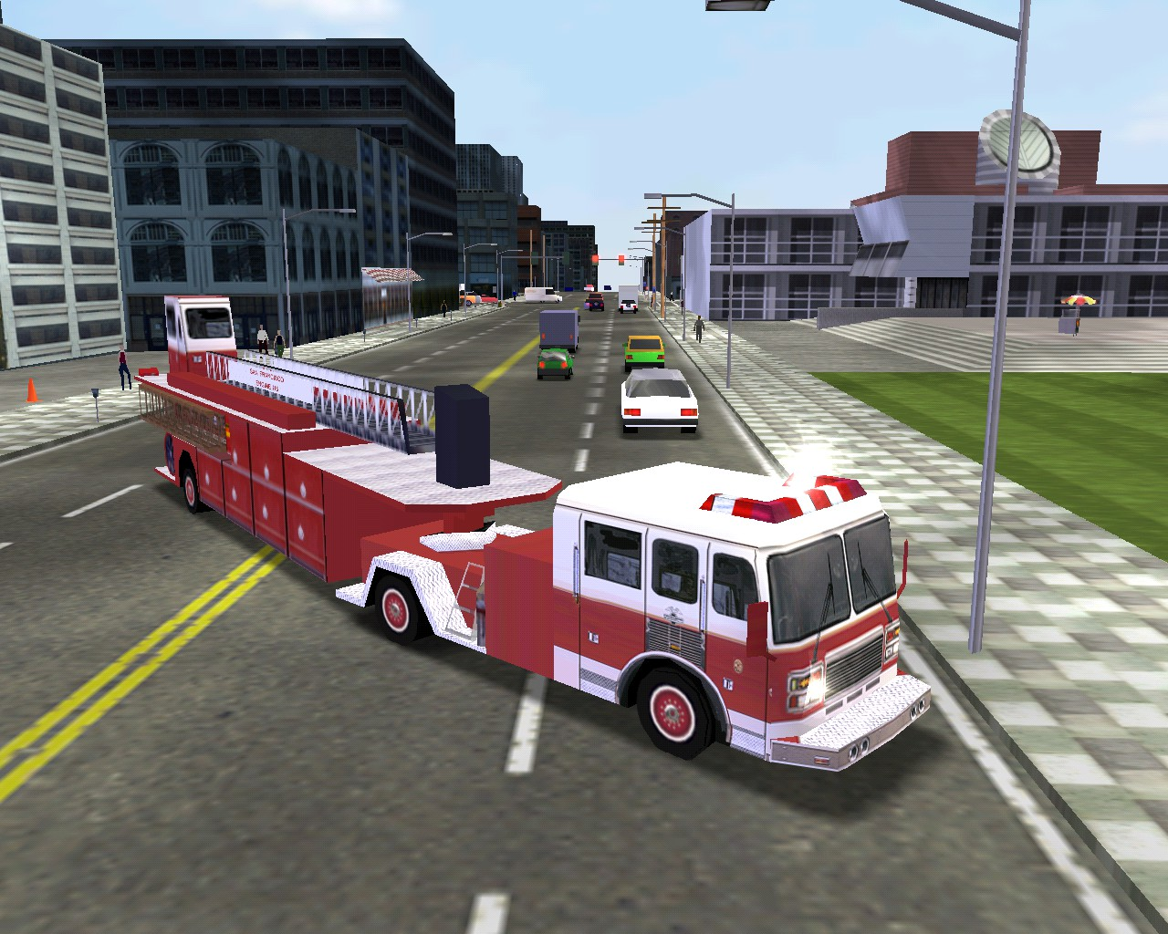 American Lafrance Fire Truck Midtown Madness 2 Wiki