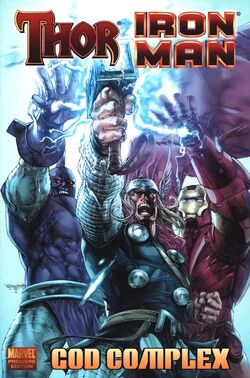 Iron Man-Thor HC-TPB Vol 1 1