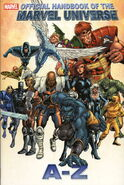 Official Handbook of the Marvel Universe A-Z HC Vol 1 1