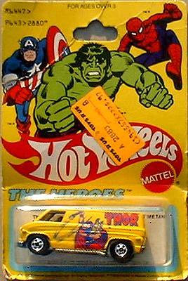 Merchandise hotwheelsvan-packaged