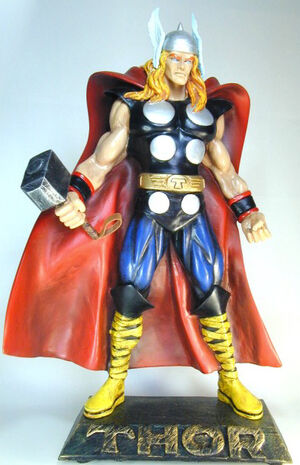Merchandise-statue-thor foreign 110203