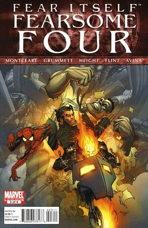 Fear Itself Fearsome Four Vol 1 3