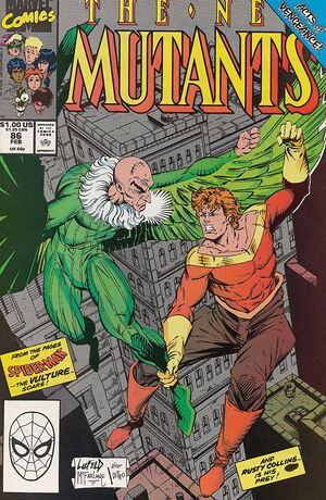 New Mutants Vol 1 86