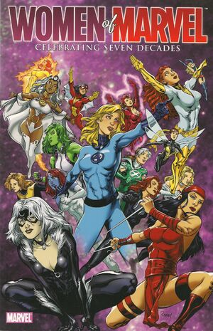 Women of Marvel Celebrating Seven Decades Handbook Vol 1 1