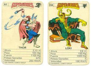 Merchandise-cardgame unknownforeign-1985
