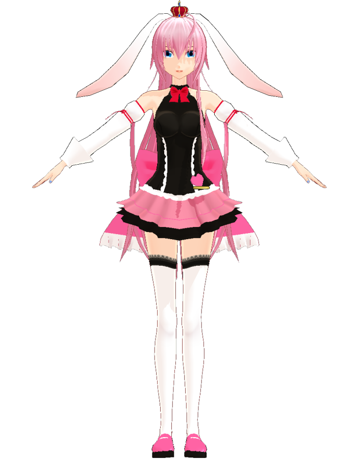 Luka Megurine White rabbit (Uri) | MikuMikuDance Wiki ...