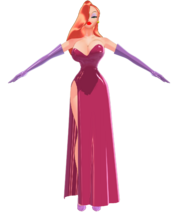 Jessica Rabbit by chatterHEAD