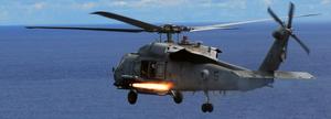 Sh-60f firing hellfire