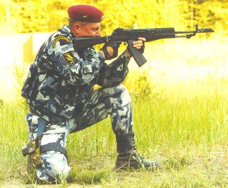 99 MVD Krechet Spetsnaz AN-94 Abakan