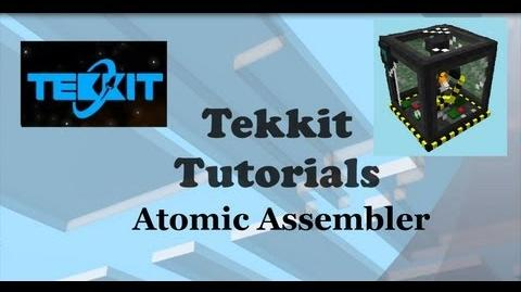 Tekkit Atomic Assembler Tutorial Duplicate Items in Tekkit main Atomic Science