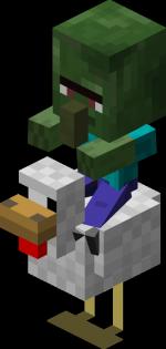 Chicken Jockey Minecraft Pc Wiki Fandom Powered By Wikia