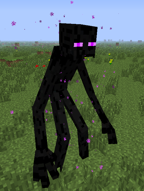 coloring pages minecraft mutant enderman - photo#34