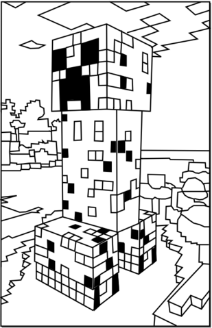 File:Minecraft-creeper.png