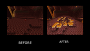 Bed in Nether