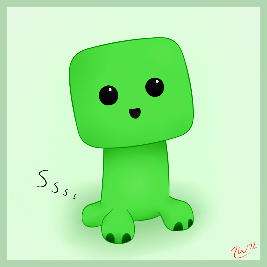 how to make a baby creeper in minecraft