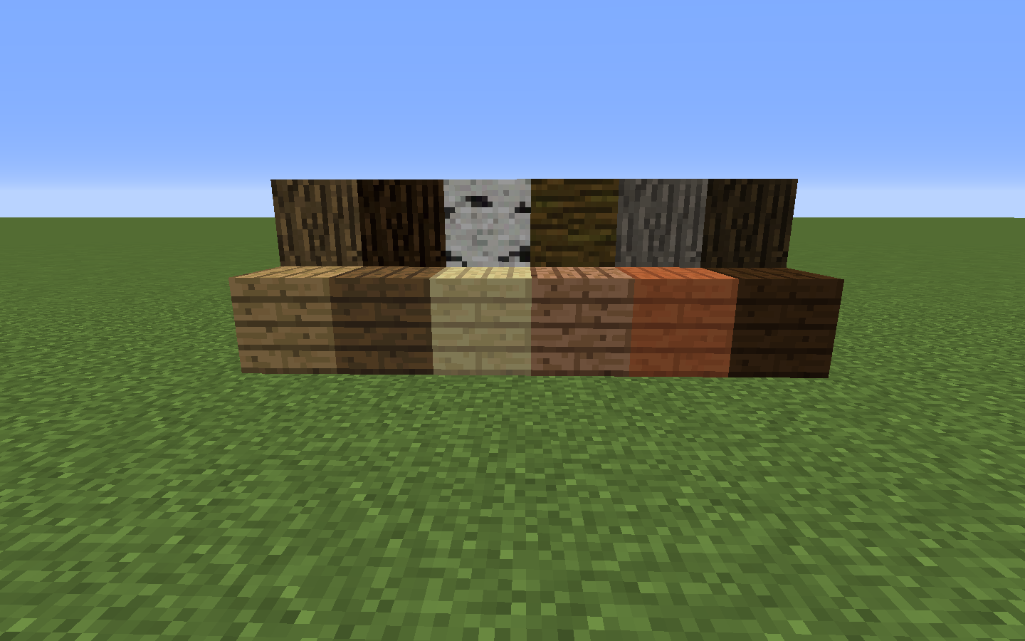 Wood planks minecraft wiki fandom powered by wikia