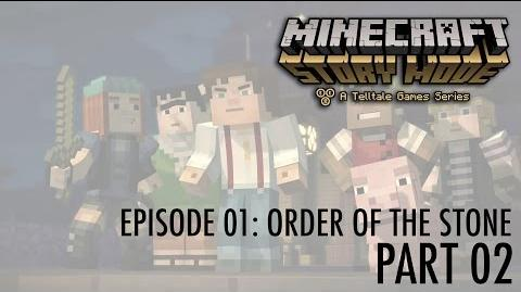 Let's Play Minecraft - Story Mode! Episode 01- Order of the Stone (part 02) A Walk in the Jungle