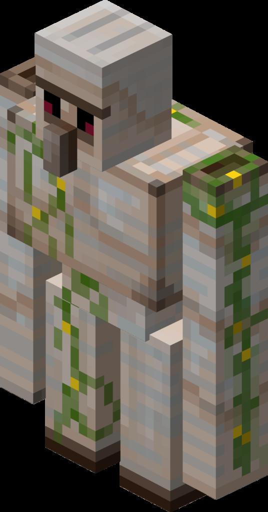 Minecraft gold golem