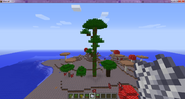 Trees in the Mushroom Island Biome