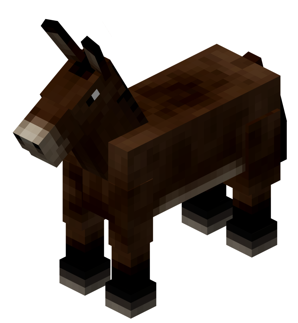 how to get a mule in minecraft pe
