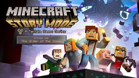 'Minecraft Story Mode' Episode 1 - 'The Order of the Stone' Trailer